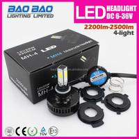 Hot new brighter Led motor headlight for motorcycle 2200lumen 18w--BAOBAO LIGHTING