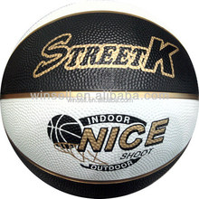 2014 nice looking basketball size 5 rubber