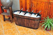 wooden ice barrel wine barrel ALS-1152