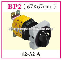 """Main Emergency Base Mounting Switches with Door Interlock Devices Mounting on Classical 32mm Center Axis with Padlock in """"0"""""""