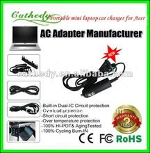 For Acer Aspire One Netbook Battery Car Charger Adapter