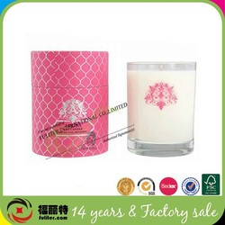 Alibaba China luxury round candle gift box packaging design
