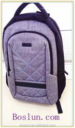 Modern canvas fashion laptop backpack