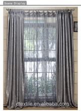 acabados de lujo de la cortina de la ventana 2 elegante capa de sol sombra 56 cortinas de la serie