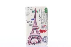 Eiffel Tower Fashion wallet leather case cover for nokia lumia 520