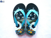 Kids nude beach slippers footwear summer casual EVA flip flops for boy