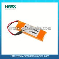 High drain battery Li-polymer 11.1v 2200mah 25c battery pack
