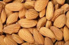 Almonds: Non Parel, Carmel, Sonora etc