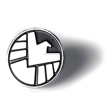 The Avengers Agents of Shield S.h.i.e.l.d. Metal Sign Lape Pin Badge