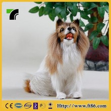 artificial furry animal mannequins display dog mannequin