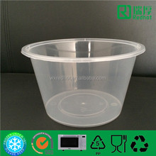 Microwave Plastic Takeaway Food Container/Lunch Box with Lid 1500ml