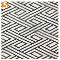 2015 New Fashion Cotton Poly Spandex Jacquard Knitted Fabric