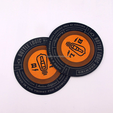Own brand printing Mats & Pads Table Decoration & Accessories Type New design paper coasters with own slogan