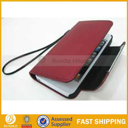 good dull polish leather case for iphone5