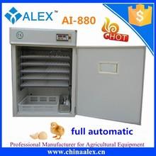 Equipamentos de incubação incubadora automática ovo de galinha máquina de incubação AI-880 bateria gaiolas de galinhas poedeiras