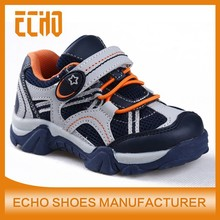 2015 new style velcro sneakers, comfotable mesh shoes for boy, kids csual shoes