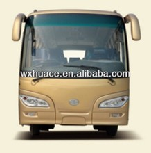 7.6m 31 seater tour buses with Diesel FAW engine for sale