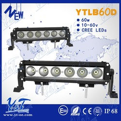 high quality led light bar table light bar for electric scooters single row driving light for truck