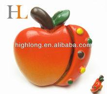 Cartoon Kids Pull Handle and Knob apple shaped