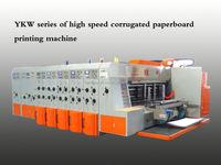 flexo printer and slotter machine for carton box