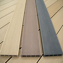 eco friendly no mental element outdoor veneer decking flooring