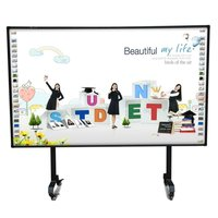 smart board wireless electronic whiteboard with movable stand for kids