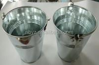 plain garden Tin bucket