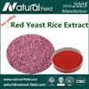 Top Quality Monascus Purpureus Red Yeast Rice powder 0.2%- 5%