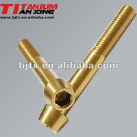 M16 titanium screw and bolt