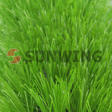 International Certification Permeable soccer artificial grass from SUNWING FAMILY