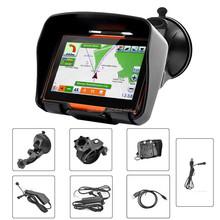 4.3'' Touch Screen Bluetooth IP57 Waterproof Motorcycle GPS