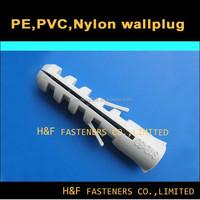HF brand nylon PE PVC plastic fisher wall plug