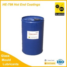 High quality spray hot end coating for glass