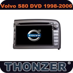 2 din 7inch dvd gps for volvo s80 car radio(TZ-VLS80)