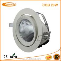 Model andy Newest 20W Epistar led downlight cob light