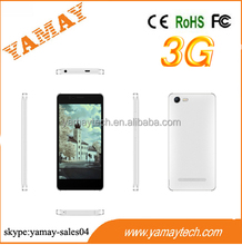 customized phone dual sim android smartphone 5inch IPS 540*960 MTK6582 quad core 3G smartphone used mobile phone