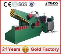 EXPORT TO Brazil Cheap Q43-2000 hydraulic alligator shear for metal scrap