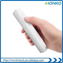 Universal Newest Products Mini Portable Ppt Laser pen/Laser Pointer Power Bank Charger 2600mAh