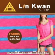 Taiwan K05-001 100 cotton underwear springswear high quality knit fabric
