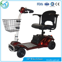 Ce 4 Wheel Electric Mobility Scooter For Elderly