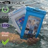 new arrival mobile phone pvc waterproof bag for iphone with floating