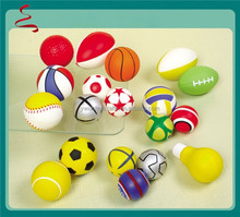 Factory promotional custom Logo printed PU stress ball toy