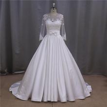 Fairy burgundy low cut back dropped real wedding dress beaded mermaid