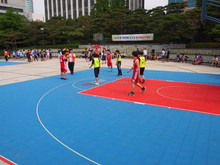 safety basketball court surfacing