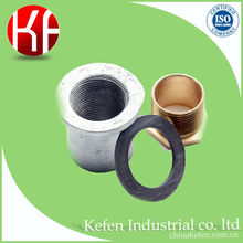 Steel electrical conduit/pipe flange coupling