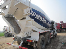 Used China made Howo year 2012 12m3 mixer truck and second hand Howo year 2012 12m3 mixer truck located shanghai