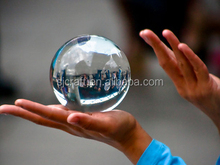 Clear Crystal Ball Glass Ball Crystal sphere For Magic props
