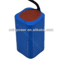 2014 Rechargeable 18650 11.1V lithium battery packs for street light battery 8000mAh