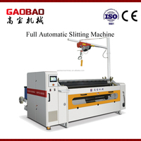 Top Quality High Quality Plastic High Quality Full Auto Non Woven Fabric Slitting And Rewinding Machine