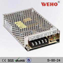 christmas decoration led strip light 50w 24v ac dc power supply switching